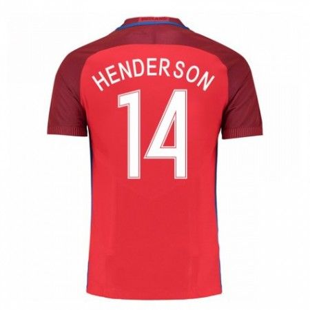 England 2016 Jordan Henderson 14 Borte Drakt Kortermet.  http://www.fotballteam.com/england-2016-jordan-henderson-14-borte-drakt-kortermet.  #fotballdrakter