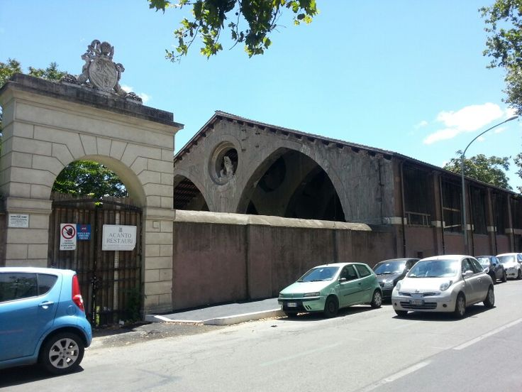 Deposito papale a Porta Portese