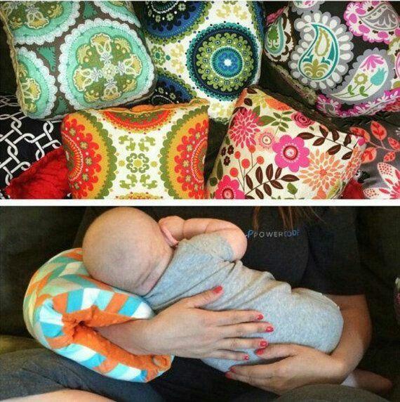Nursing pillow sleeve