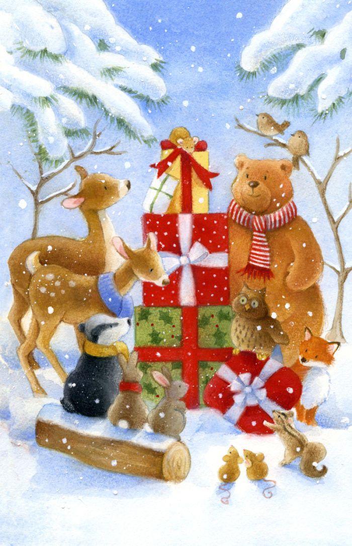 Lisa Alderson - woodland christmas