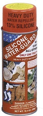 Silicone Waterproofing Spray: AccSilicone http://amzn.to/IQYMjm