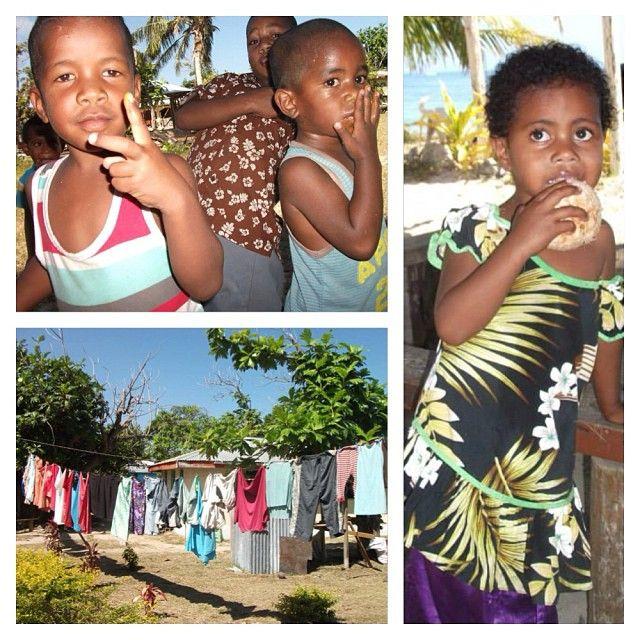 These gorgeous kids are growing up in paradise. #fijianbeauty #fiji #coloursoffiji #Padgram