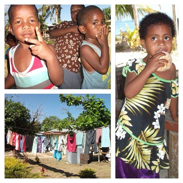 These gorgeous kids are growing up in paradise. #fijianbeauty #fiji #coloursoffiji #Padgram
