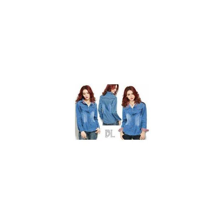 Jual Kemeja Horin Jeans TA - Pusat Grosir Baju Metro Tanah Abang