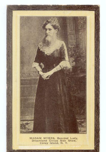 Bearded lady 1890's: Beards Lady, Beards Women, Beards Beautiful, Handbags Discount Leather, Design Handbags, Circus Carnivals, Handbagsdiscount Leather, Vintage Photo, Handbags Outlets