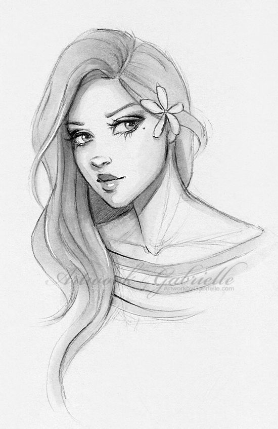 69 best girl drawings images on Pinterest | Drawing ideas ...