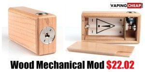 Wood Mechanical Mod