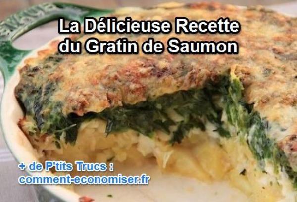 La Délicieuse Recette du Gratin de Saumon.