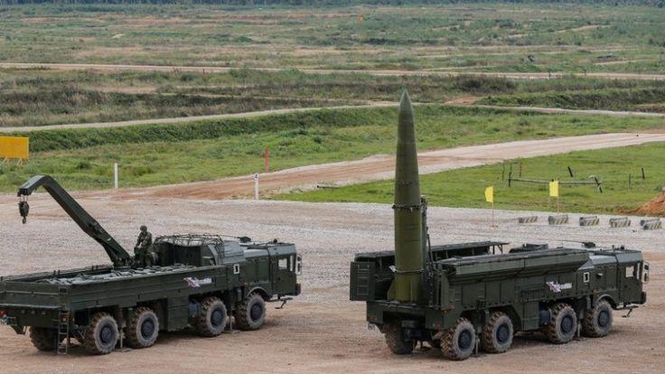 NATO kritisiert Stationierung russischer Raketen in der Nähe der Ostsee