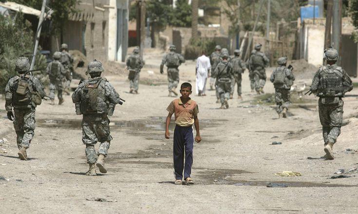 Boy vs. Army