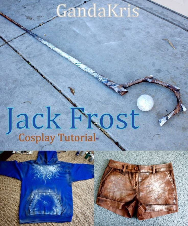 COSPLAY Tutorial - Jack Frost RISE OF THE GUARDIANS