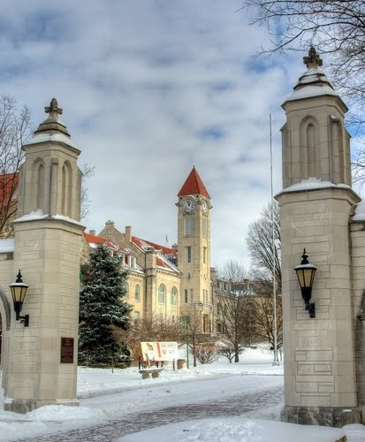 Sample Gates, Indiana University, Bloomington, IN