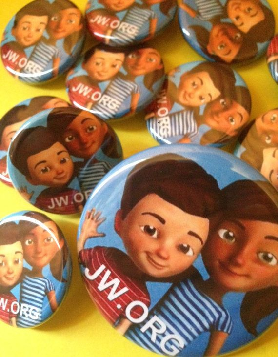 Caleb and Sophia PINBACK BUTTONS 1.25 plus 2.25 by ButtonsForAll