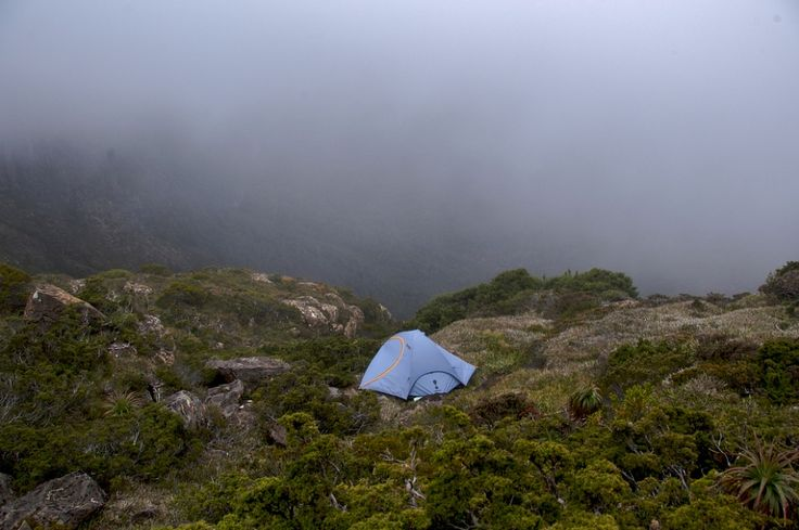 Camping Mount Anne - South West National Park - Tasmania