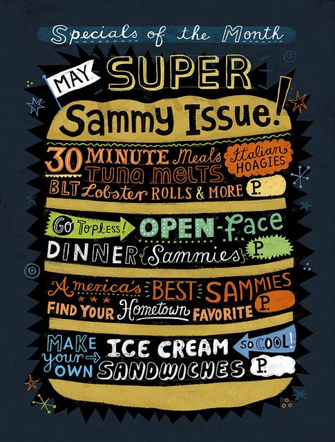 May Super Sammy Issue! | Flickr - Photo Sharing! We could put a whole menu in one image. What's your favorite restaurant? What's your favorite dish there?