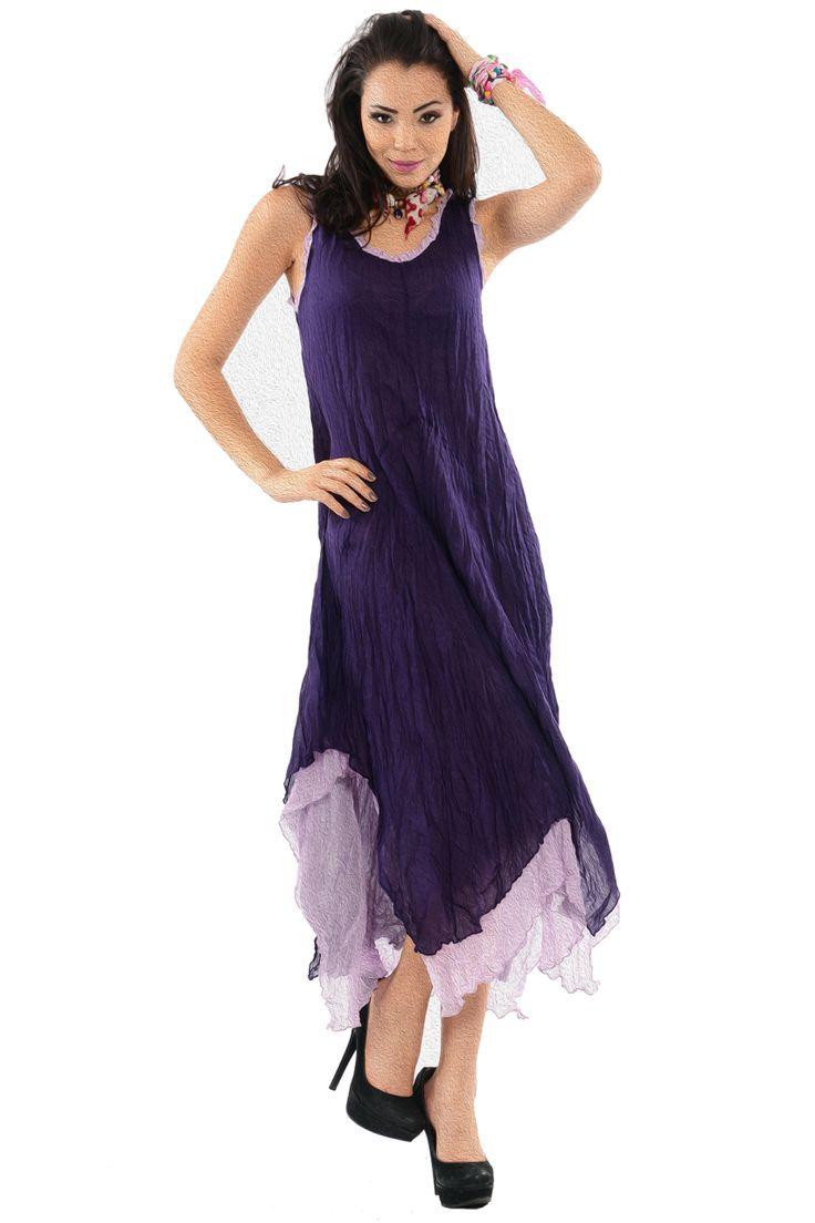 otantik elbiseler | Otantik Hilde Elbise Mor