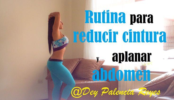Rutina de oblicuos para marcar los lados del abdomen - Reducir cintura (...