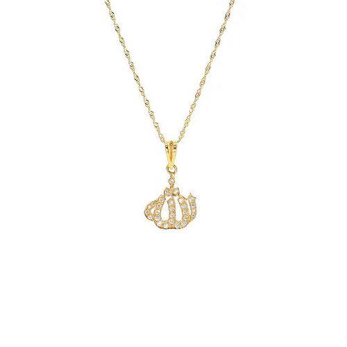 Saint Laurent Necklaces, Yellow Gold, Vermeil, 2017, One Size