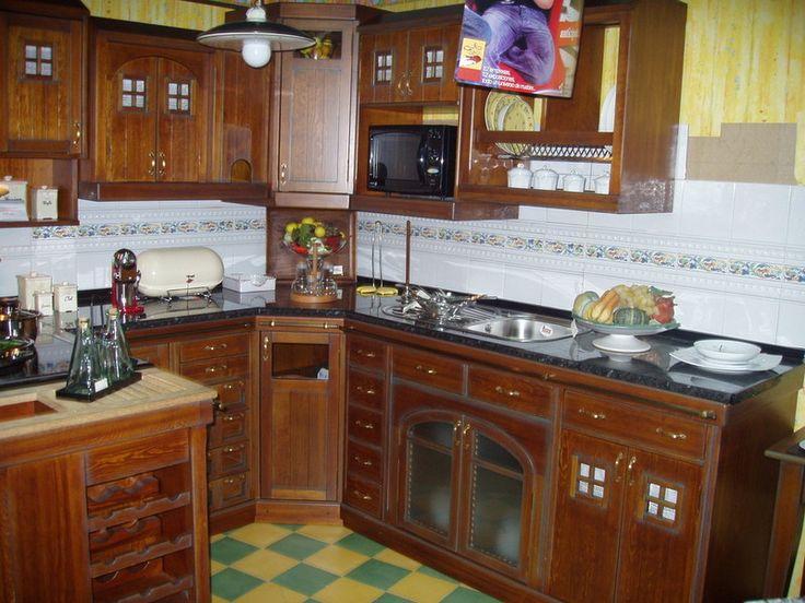 P jaro cocinas modulares r sticas for Muebles de cocina modulares