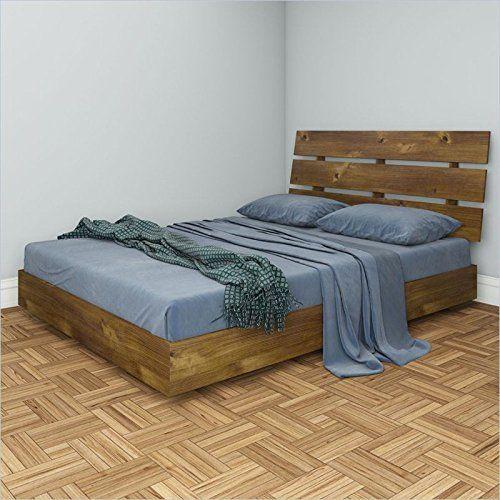 Amazon.com   Nexera Nocce 2 Piece Queen Bedroom Set In Truffle   · Queen  Size Platform ...