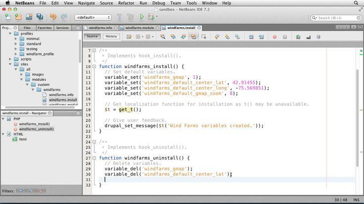 Drupal 7 custom module development