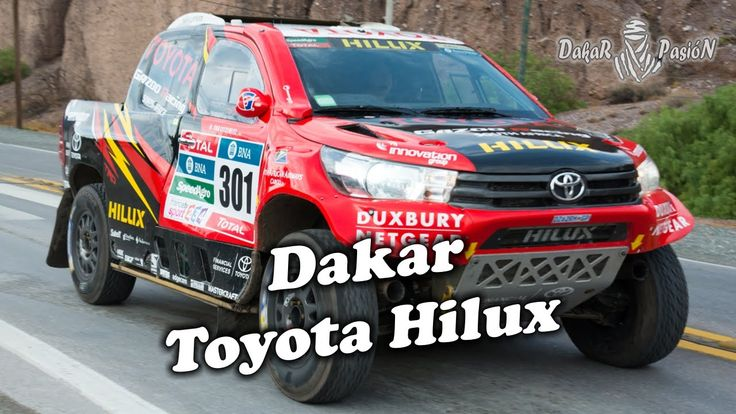 Dakar Toyota Hilux - Verdaderas Todo Terreno