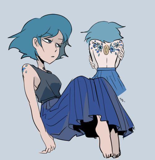 Steven Universe • Lapis Lazuli humanization