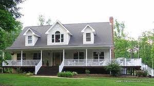 Cape cod house with wrap around porch diy decor ideas for Cape cod floor plans with wrap around porch
