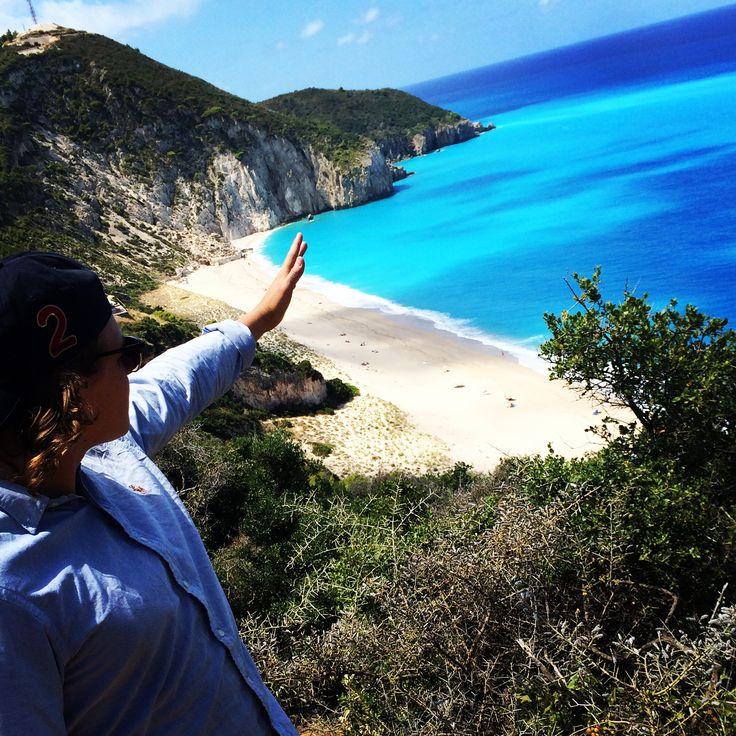 Milos Beach, Agios Nikitas, Lefkada