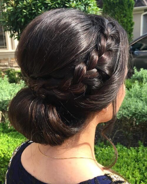 Indian Hair Updos: 108 Best Indian Bridal Hairstyles Images On Pinterest