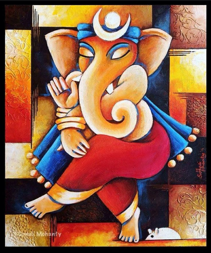 1000 ideas about ganesha painting on pinterest for Mural art of ganesha