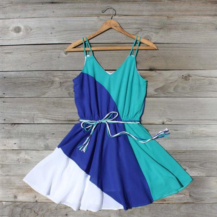 Firecracker Dress: Colors Combos, Summer Dresses, Summer Day, Cute Dresses, Clothing, Cute Outfits, Woman Dresses, Colors Blocks, Firecracker Dresses