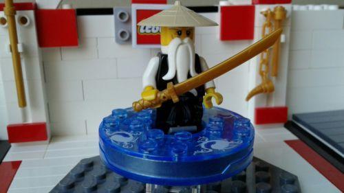 "LEGO #2255 ""SENSEI WU"" NINJAGO SET Black Gold Rare"