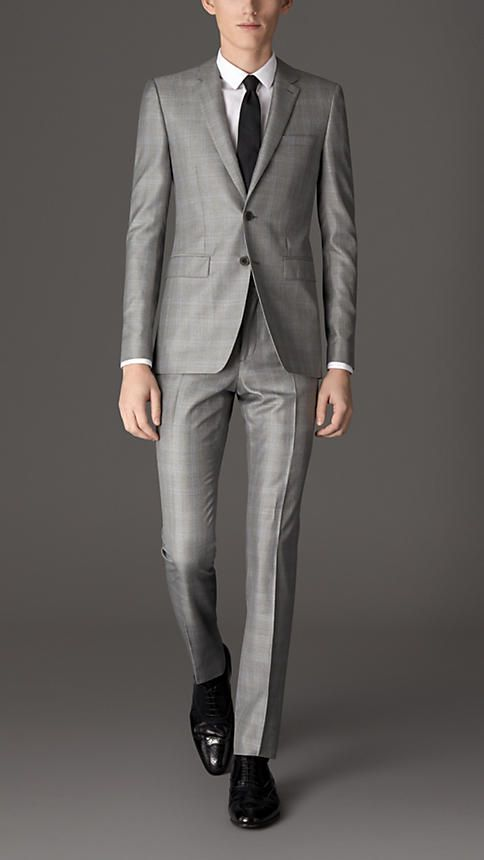 Burberry Slim Fit Prince of Wales Check Suit