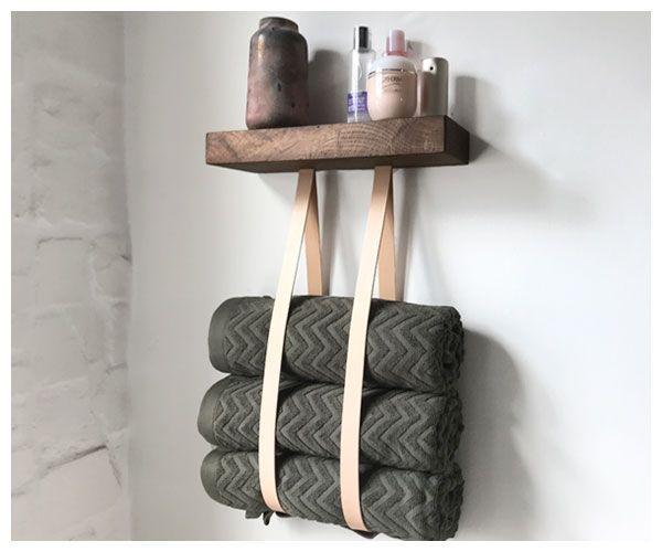 DIY Handtuchhalter