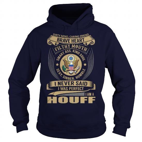 Cool HOUFF Last Name, Surname Tshirt T-Shirts