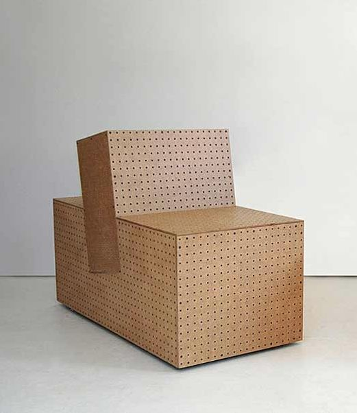 ROLU; Pegboard 'Box Chair Square 1', 2010.