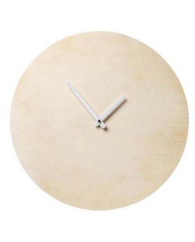 Reloj madera redondo