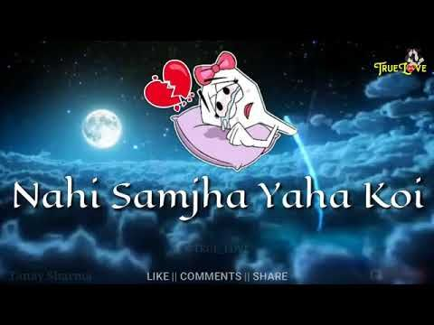 Naam E Wafa Sad Song Status WhatsApp Heart Touching Status Video 2018
