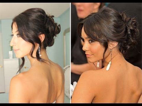 This is s a highly requested Glam Up-Do worn by Vanessa Hudgens to one of the Red Carpet events. I love this look, because it's elegant, pretty and relatively easy to put together.    Hope you guys enjoy it!    Get Your Own Luxy Hair Extensions:  http://www.luxyhair.com    FACEBOOK:  http://www.facebook.com    TWITTER:  http://www.twitter.com      COMMENT RUL...