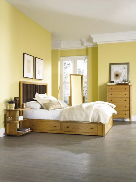 Yellow Master Bedroom Decorating Ideas: 118 Best Solid Wood Beds Images On Pinterest