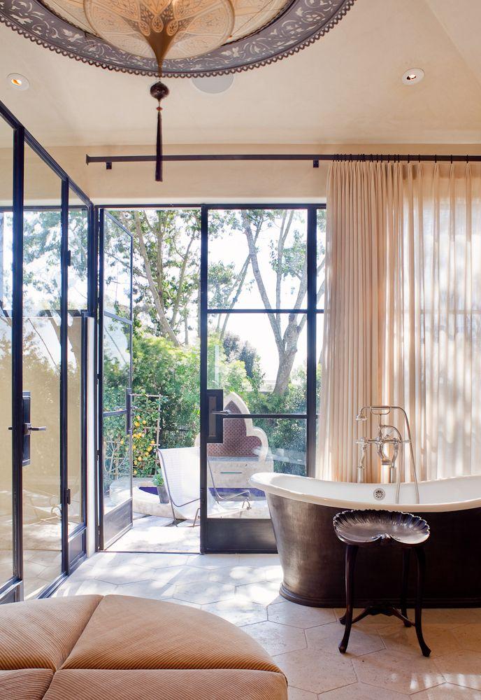 Bathroom designed by Jeffrey Alan Marks as