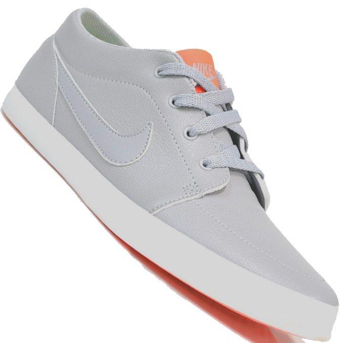 Tênis Nike Futslide SL Casual Feminino Cinza