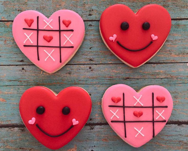 valentine cookies 36 a dozen sweet cs bake shop - Decorated Valentine Cookies