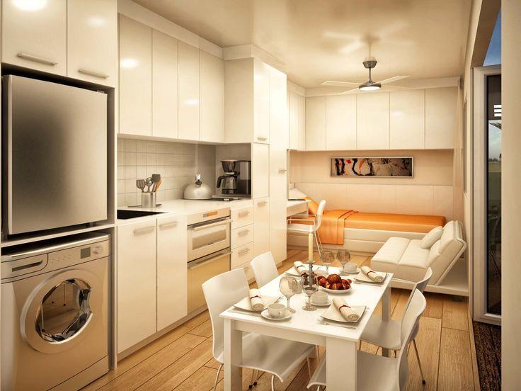 Super small bachelor studio apartment home decor for Bachelor kitchen ideas