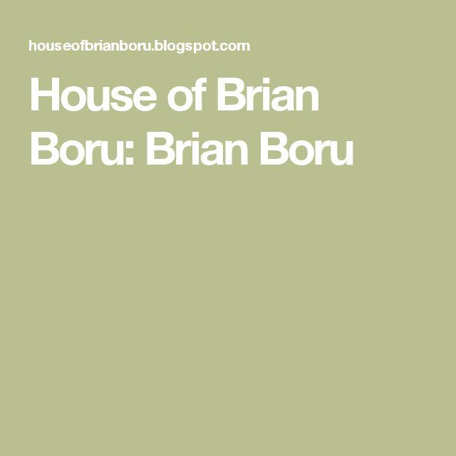 House of Brian Boru: Brian Boru