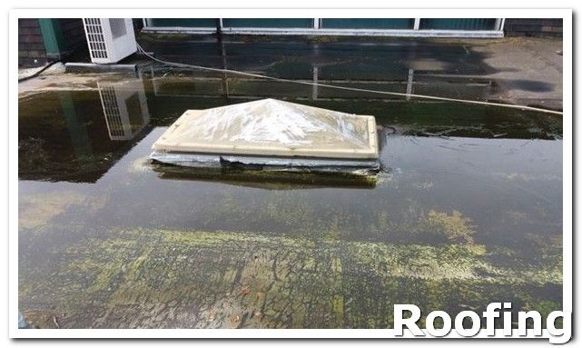 Roofing Guide When Working On Your Roof Be Sure To Wear Rubber Sole Shoes Even If It Is A Sunny Day Outside There Could Flat Roof Roof Repair Roofing
