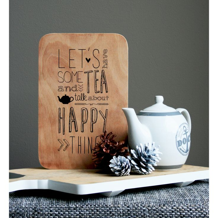 Let's have some tea #happy #friends #puur #handmade