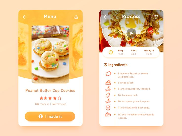 66 best ui recipe images on pinterest user interface app design hotrecipes app forumfinder Gallery