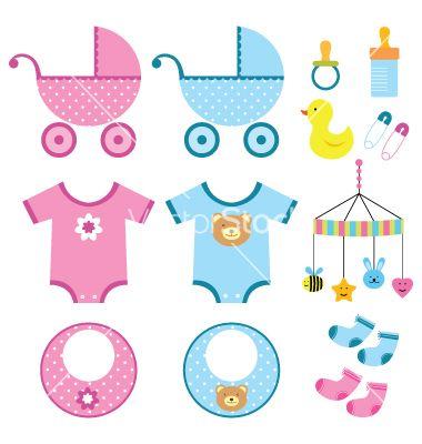 Baby elements s... Vectorstock Media